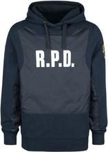Resident Evil - Racoon Police Department -Hettegenser - blå, svart