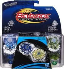 Beyblade Dark Wolf & Poison Serpent - Hasbro