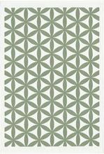 Ekelund - Kylee Håndkle 35x50 cm Grønt mønster