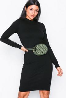 Noisy May Nmcirus L/S Funnel Neck Knit Dress Kjoler