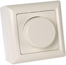 Dimmer for glødepærer og halogenpærer, 50-300 W, utenpåliggende