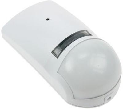 PIR-detektor med glaskrossdetektor. Dubbelsensor