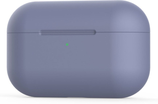 Airpods Pro Holdbar Silikon Etui - Lilla