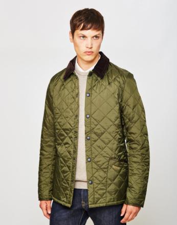 Barbour Heritage Liddesdale Quilted jakke Green