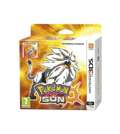 Pokemon Sun Steelbook Fan Edition Nintendo 3DS spil - Fruugo