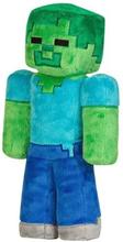Minecraft, Pehmoeläimet / Pehmoeläimet - Zombie 30 cm