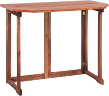 vidaXL Cafébord 90x50x75 cm massivt akaciaträ