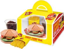Sweet Candy Deal - Eske med Burger Godteri-Meny