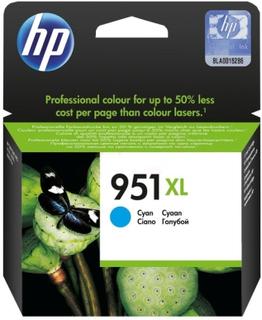 Hp HP OfficeJet Managed MPF P27724dw HP 951XL Blekkpatron cyan, 1500 sider