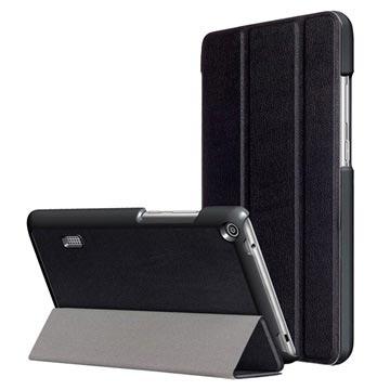 Tri-Fold Huawei MediaPad T3 7.0 Folio Cover - Sort