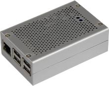 Joy-it RB-StromPI2-CaseSI SBC-kabinet Passer til: Raspberry Pi Sølv