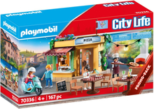 Playmobil City Life Pizzeria med uteservering 70336