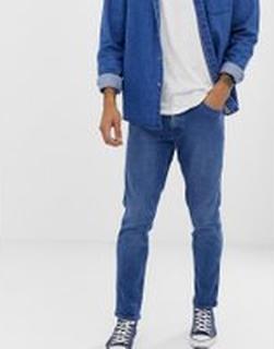 Levi's - Line8 - ljustvättade jeans i slim med avsmalnande ben - L8 arrow