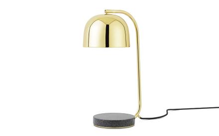 Normann Copenhagen Grant Bordlampe Messing