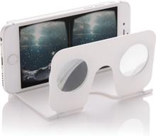 VR brille - Mini virtual reality glasses (Hvid)