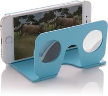 VR brille - Mini virtual reality glasses (Blå)