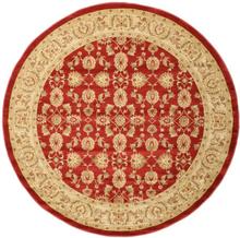 Ziegler Kaspin - Röd matta Ø 250 Orientalisk, Rund Matta