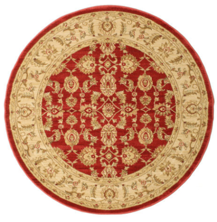 Ziegler Kaspin - Röd matta Ø 150 Orientalisk, Rund Matta