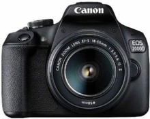 Canon Spegelreflexkamera 2728C003 Svart