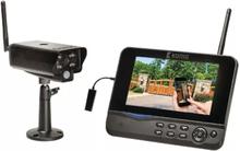 König Övervakningskamera, Wifi m 1 st kamera med bildskärm