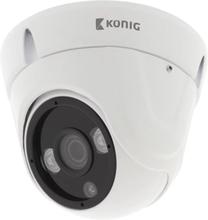 König HD Kupol Övervakningskamera IP66 Vit