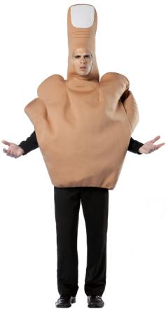 Kostume finger voksen One-Size - Vegaoo.dk