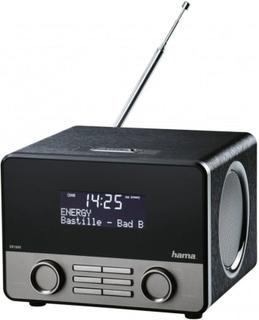 HAMA DAB+ Radio BT Svart Silver