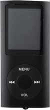 eStore Slim MP3-spiller med TF-kort og FM Radio-Support - Svart