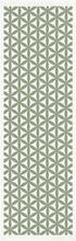 Ekelund - Kylee Løper 48x150 cm Grønt mønster