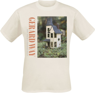 Way, Gerard - Haunted House -T-skjorte - hvit