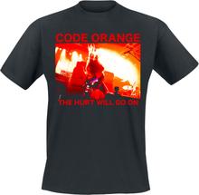 Code Orange - Red Hurt Photo -T-skjorte - svart