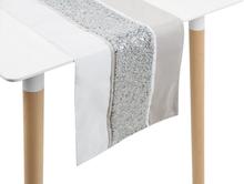 Bordslöpare 35 x 180 cm silver HAFIK
