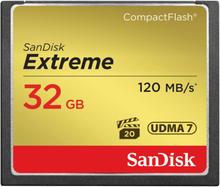 SanDisk Minneskort CF Extreme 32GB 120MB/s UDMA7