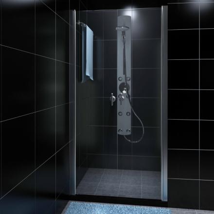 vidaXL Shower Door Glas 78-83 x 190 cm