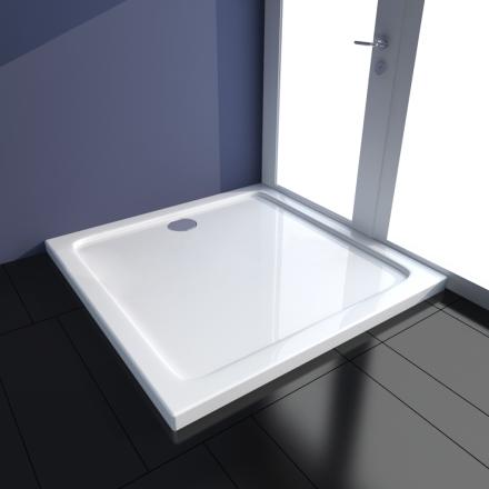 vidaXL ABS-dusjbunn rektangulær 90 x 90 cm