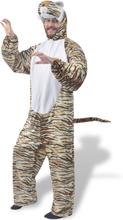 vidaXL Maskeraddräkt Tiger XL-XXL