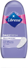 Libresse Daily Fresh Micro Pantyliners 22 stk