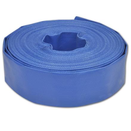 """vidaXL flad slange 25 m 2"""" PVC til transport af vand"""