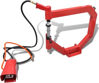 vidaXL Tryklufthamre metal arbejde værktøj