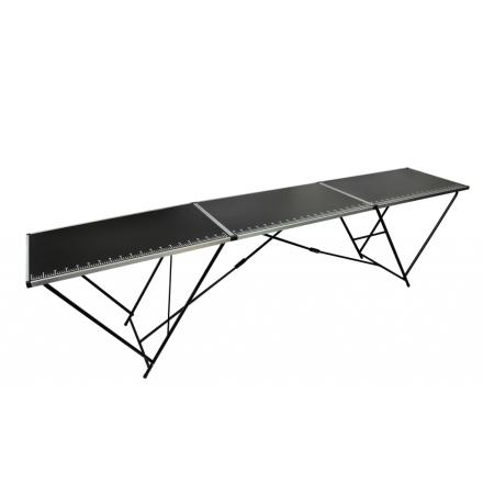 vidaXL Tapet arbeidsbord aluminium & stål