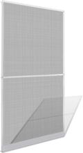 vidaXL Valkoinen Saranoitu Hyönteisverho Oveen 120 x 240 cm