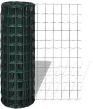 vidaXL Eurofence stål 10 x 1,5 m grön