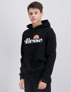 Ellesse, JERO OH HOODY, Sort, Hættetrøjer till Dreng, 13-14 år
