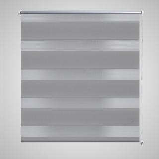 vidaXL Rullegardin i zebradesign 60 x 120 cm grå