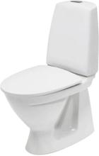 Ifö Sign toalett med inbyggt s-lås m/Ifö Clean u/toalettsits, 650x355 mm - Vit