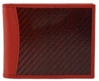 Leather and carbon fiber y kevlar wallet