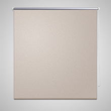 vidaXL Rullgardin för mörkläggning 140 x 230 cm beige