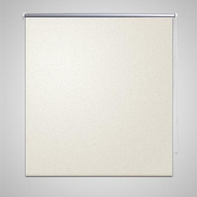 Rullgardin mörkläggande 40x100 cm benvit