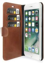 Valenta Plånboksfodral i läder, iPhone 7 Plus, Brun 5891703 Replace: N/AValenta Plånboksfodral i läder, iPhone 7 Plus, Brun