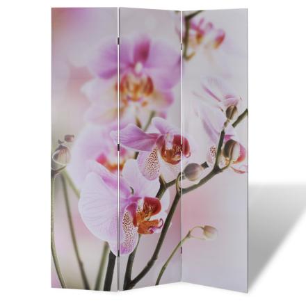 vidaXL Romdeler 120 x 180 cm blomstermønster